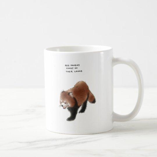 red panda trivia coffee mug