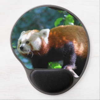 Red Panda With a Cute Face Gel Mouse Mats