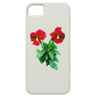 Red Pansy Duo iPhone 5 Cover