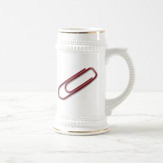 Red Paper Clip Coffee Mug