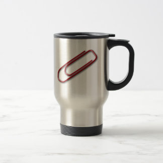 Red Paper Clip Mug