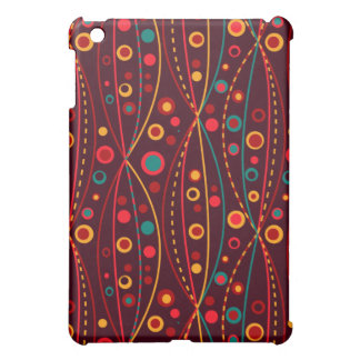 Red Particles iPad Case