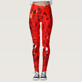 Red Party! Leggings