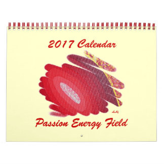 Red Passion Chakra 2017 Calendar Energy Field