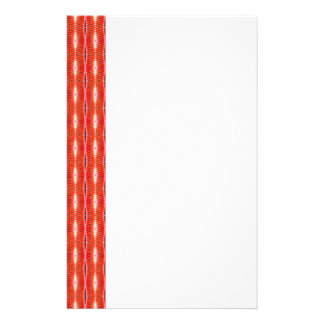 Red Pattern Personalized Flyer