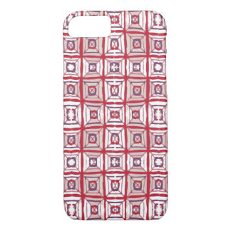 Red Patterned Phone Case