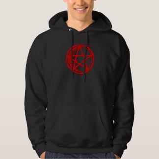Red Pentagram Hoodie