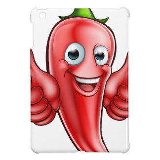 Red Pepper Cartoon Character Cover For The iPad Mini