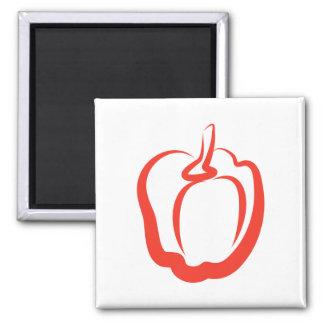 Red Pepper Refrigerator Magnet