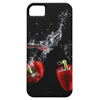 red pepper splashing in water barely there iPhone 5 case
