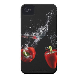red pepper splashing in water iPhone 4 case