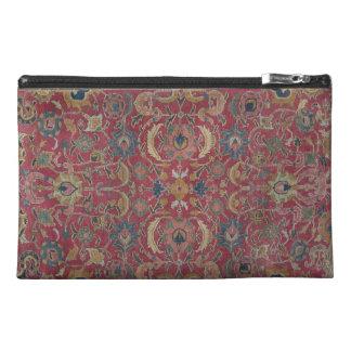 Red Persian Carpet Organizer Travel Accessories Bags