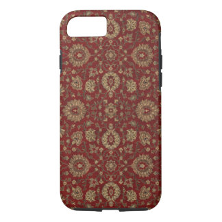 Red Persian scarlet arabesque tapestry iPhone 7 Case