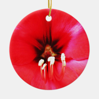 Red Petals Lovely rose king of flowers beautiful f Christmas Tree Ornament