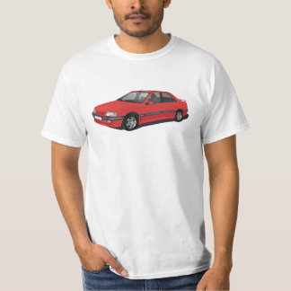 Red Peugeot 405 T-Shirt