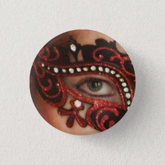 Red Phoenix Masked Eye Button