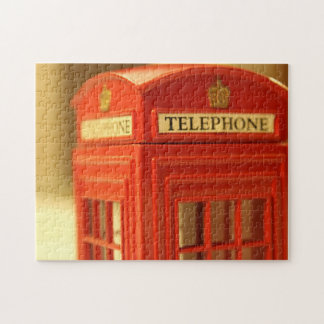 Red Phone Booth Jigsaw Puzzle