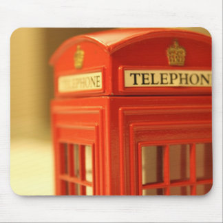 Red Phone Booth Mousepads