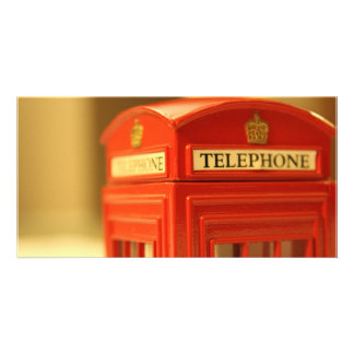 Red Phone Booth Picture Card