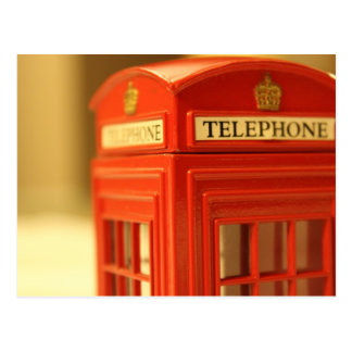Red Phone Booth Post Cards