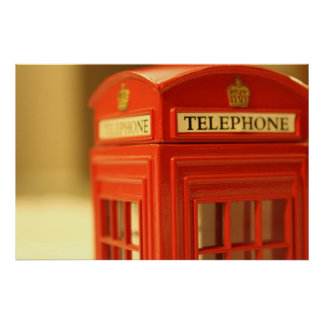 Red Phone Booth Posters