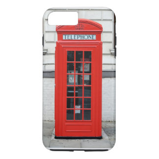 Red Phone Box For iPhone 7 Case