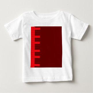 Red Piano Keys Baby T-Shirt