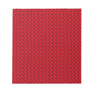 Red Pile Background Notepad