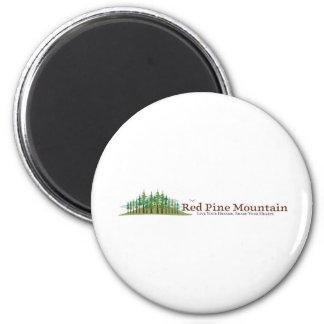 Red Pine Mountain Farm 6 Cm Round Magnet