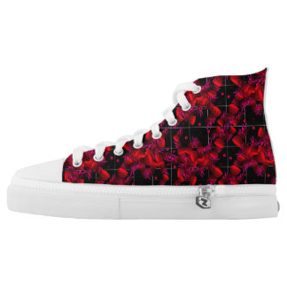 Red Pineapple High Tops