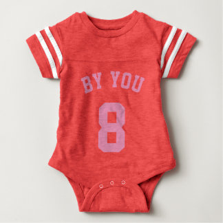 Red & Pink Baby | Sports Jersey Design T Shirt