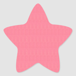 RED Pink Blank Textures Shades Template DIY GIFTS Star Sticker