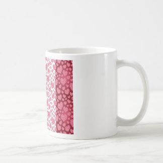Red & Pink Hearts Mug