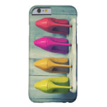 Red Pink Yellow Green Heels Photo iPhone 6 Case Barely There iPhone 6 Case