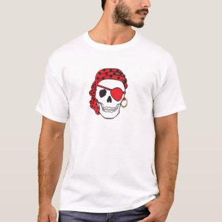 Red Pirate Skull T-shirt