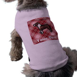 Red Pitbull Doggie Shirt