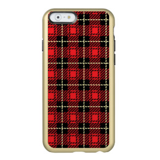 Red Plaid Background Incipio Feather® Shine iPhone 6 Case