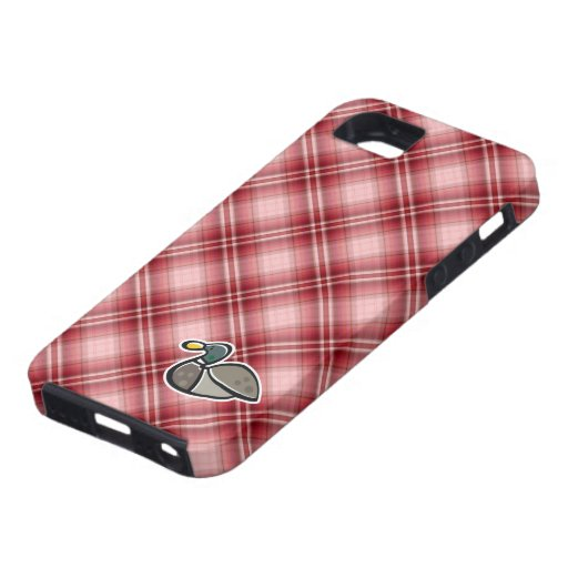 Red Plaid Duck iPhone 5 Covers