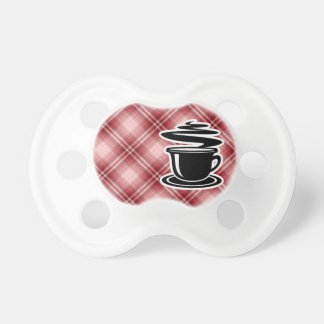 Red Plaid Hot Coffee Dummy