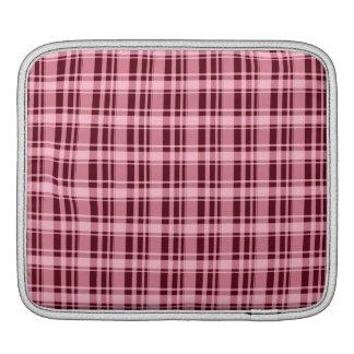 Red Plaid iPad Sleeves