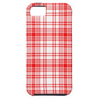 Red Plaid iPhone 5 Case