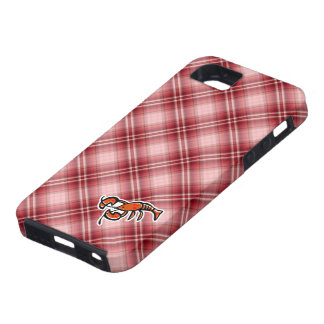 Red Plaid Lobster iPhone 5 Cases