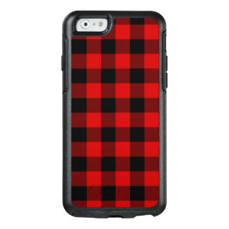 Red Plaid OtterBox iPhone 6/6s Case