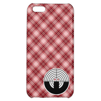Red Plaid Sport Shooting iPhone 5C Cases