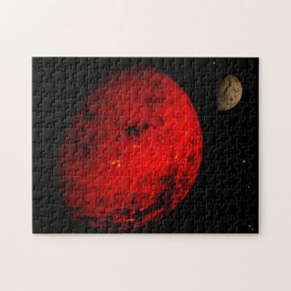 Red Planet Rocky Moon Puzzle