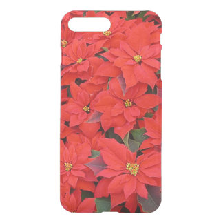 Red Poinsettias I Christmas Holiday Floral Photo iPhone 8 Plus/7 Plus Case