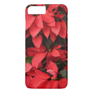 Red Poinsettias II Pretty Christmas Holiday Floral iPhone 8 Plus/7 Plus Case