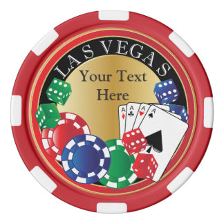 Red Poker Night | DIY Text Poker Chips