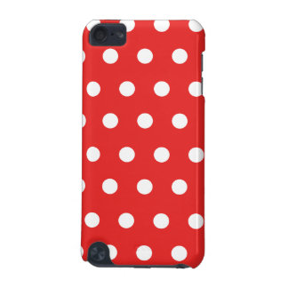 Red Polka Dot iPod Touch (5th Generation) Cover
