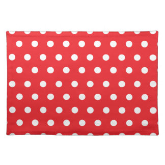 Red Polka Dot Placemats